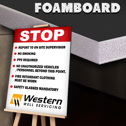 Foam Board Signs